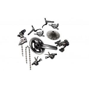 Grupo Shimano XTR M9000 2x11 vel
